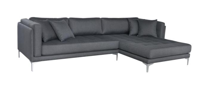 Tampa Sofa Med Xl Chaiselong Inkl Puder Danbo Mobler
